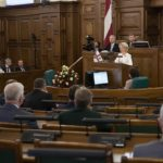 Record high number of women elected to Saeima